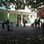 Dvorište OŠ Novi Beograd