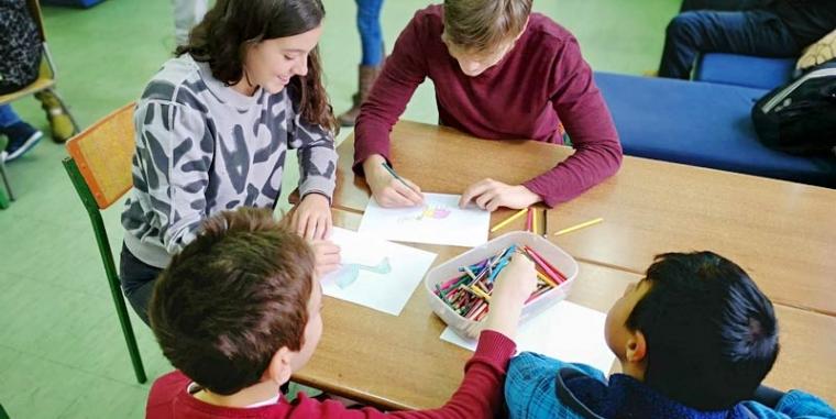 """""""Кreativni kutak"""" u saradnji sa Internacionalnom školom"""