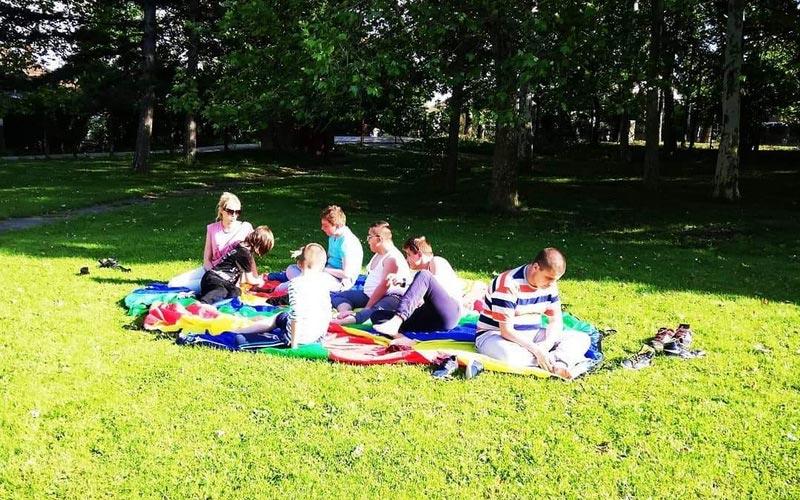 Rekrativna nastava - Bukulja - odmaranje u parku