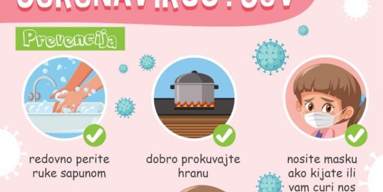 OŠ Novi Beograd protiv korona virusa