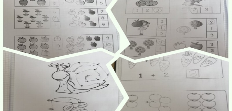Prvi radovi naših učenika – nastava na daljinu