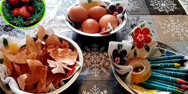 Farbanje i ukrašavanje vaskršnjih jaja