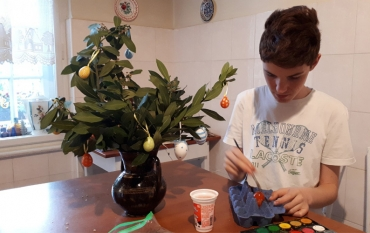 Farbanje vaskršnjih jaja – radovi naših učenika