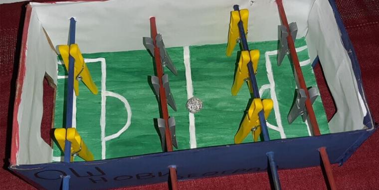 Kako napraviti mini stoni fudbal