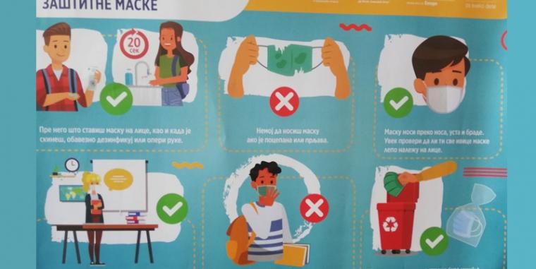 Како правилно користити заштитне маске
