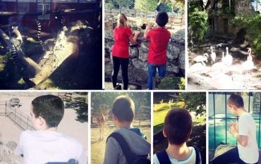 Наши ученици у посети Зоо врту