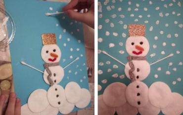 Израда Снешка Белића од свакодневног материјала